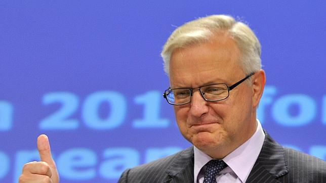 Olli Rehn deja abierta la puerta a otra prórroga a España para reducir el déficit