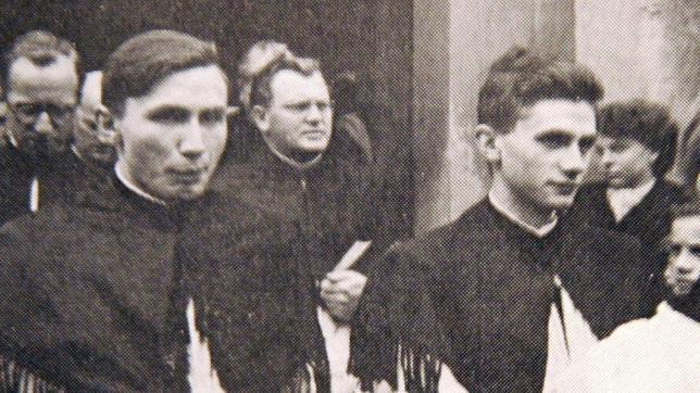 Georg y Joseph Ratzinger, en una imagen de archivo