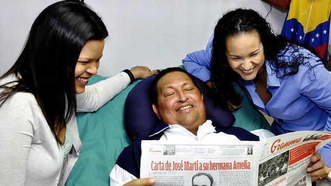 «Chávez parece tan débil que es incapaz de mantenerse sentado»