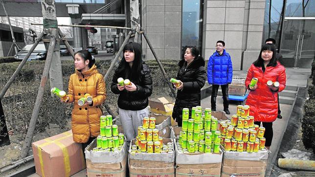 El negocio de la contaminación en China