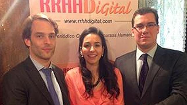 María Graciani, ganadora del «IV Premio Literario RRHH Digital»