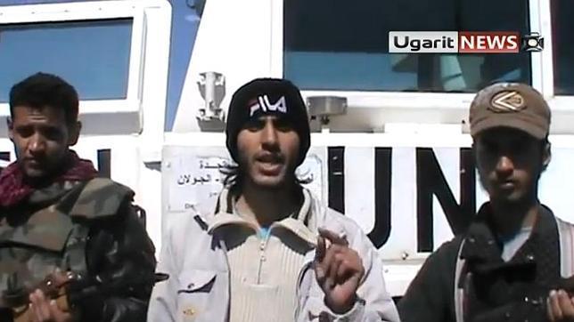 Rebeldes sirios capturan a una veintena de observadores de la ONU