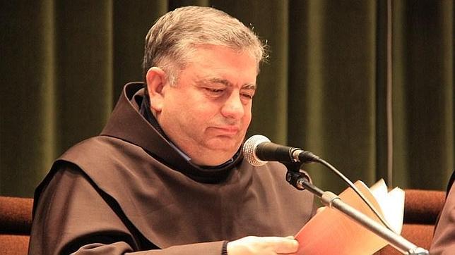 Un monje gallego junto a un Papa argentino