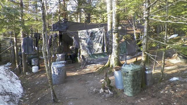 El hombre que sobrevivió 27 años como un ermitaño en los bosques de Maine