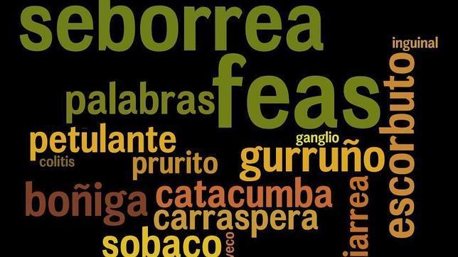Las palabras más feas del castellano