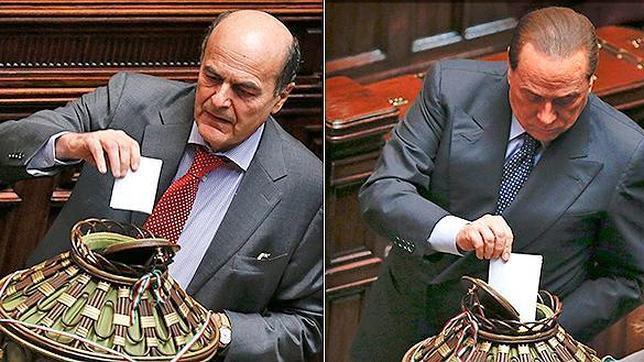 Italia elige hoy presidente con un posible consenso entre Bersani y Berlusconi