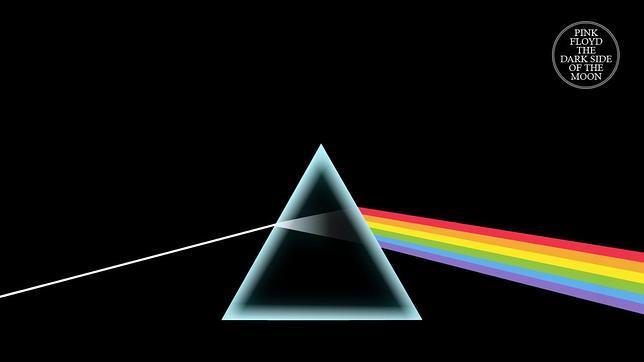 Mírica portada para el disco «Dark Side of the Moon», de Pink Floyd