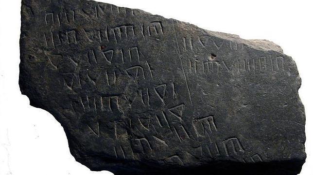 Hallan una pizarra que muestra la contabilidad de los últimos romanos en Lusitania