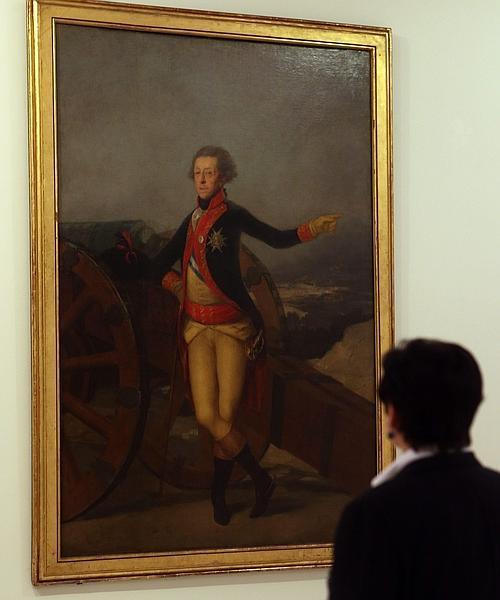 «Retrato del general Ricardos» de Goya se instala temporalmente en la Academia de  San Fernando