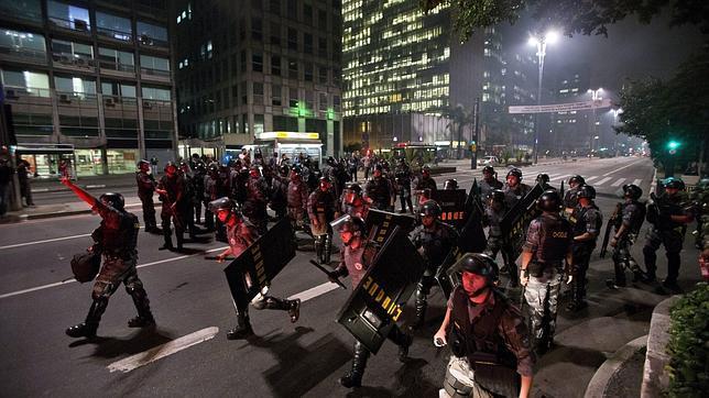 La violencia policial contra los manifestantes en Sao Paulo será investigada
