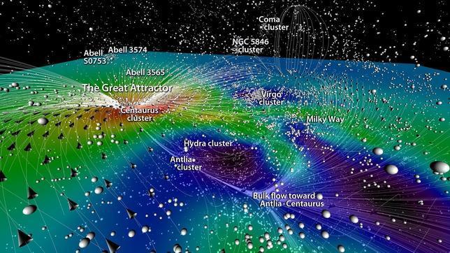 Un nuevo mapa del Universo en 3D recorre 300 millones de años luz