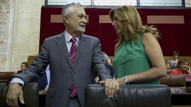 Griñán: «Si le he hecho un roto a Rubalcaba, hay una debilidad extrema»