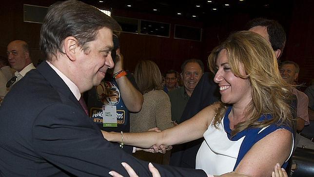Susana Díaz confirma su candidatura a las primarias del PSOE andaluz