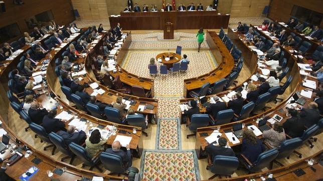La Asamblea de Madrid, durante el Pleno del pasado 6 de junio