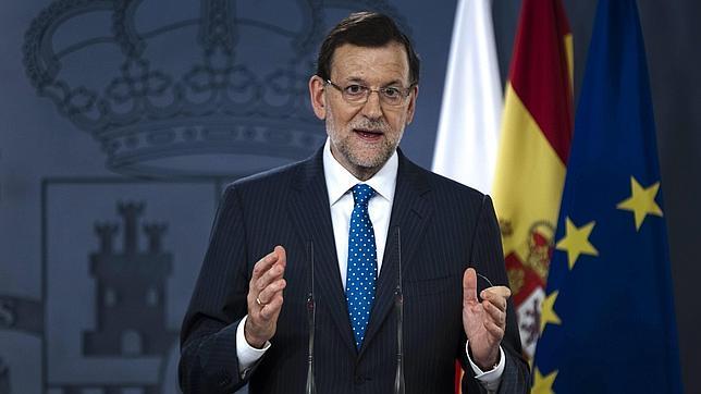 Rajoy: «El Estado de Derecho no se somete a chantaje»
