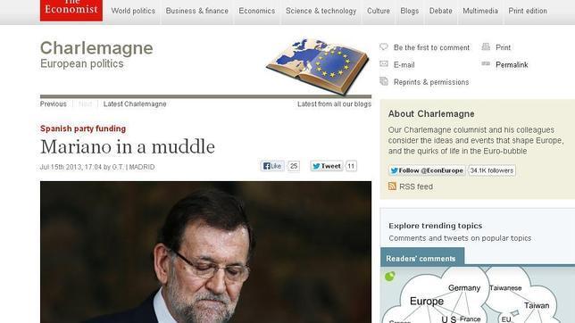 El «caso Bárcenas» daña la Marca España en la prensa internacional