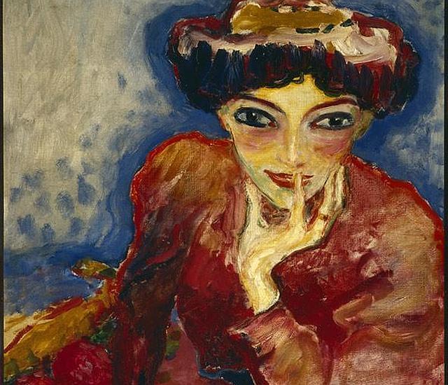 «La penseuse» de Kees Van Dongen, una de las obras robadas del museo