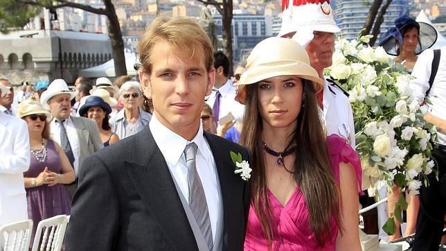 Andrea Casiraghi y Tatiana Santo Domingo se casan hoy en una discreta ceremonia