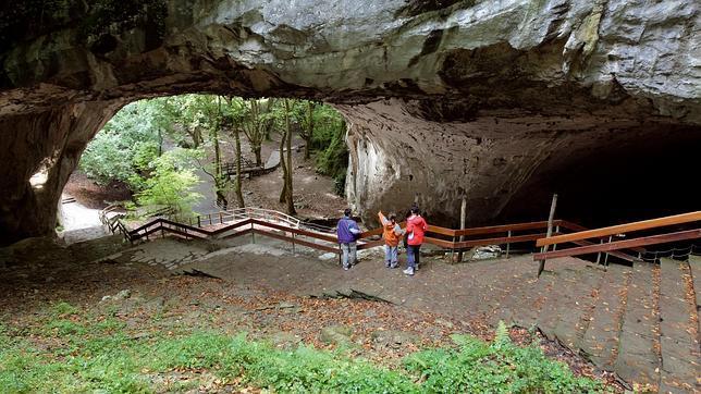 Una imagen de la cueva de Zugarramurdi