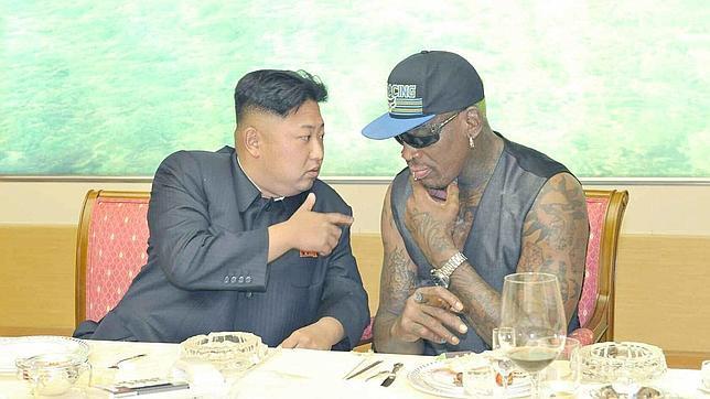 Kim Jong-un, «un padrazo», según Dennis Rodman