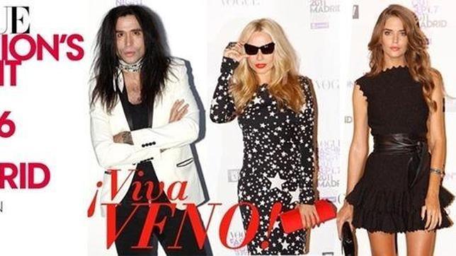 Algunas de las «celebrities» que acudieron a la pasada edición de la VFNO