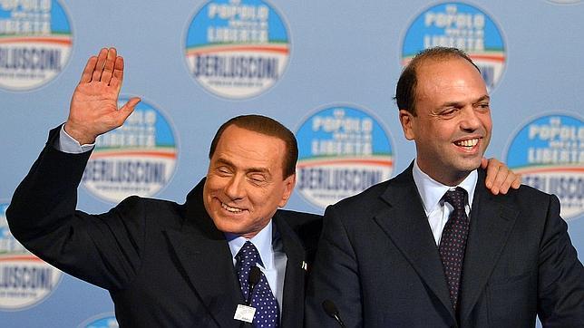 Alfano, el delfín que le salió rana a Berlusconi