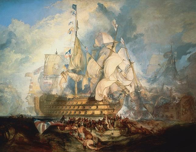 Entramos en la bitácora de los barcos de Trafalgar