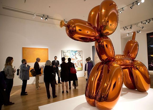 El arte contemporáneo infla el mercado