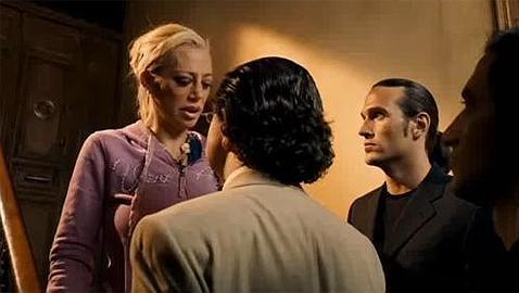 Belén Esteban, durante un momento de su actuación en «Torrente 4»