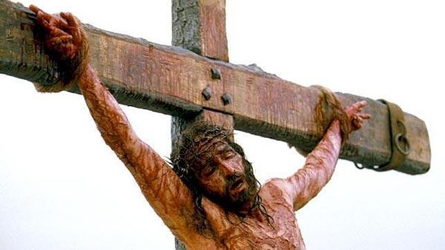 Un fotograma de la película «La pasión de Cristo»