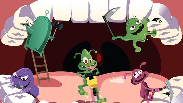 En la boca habitan grandes cantidades de bacterias que pueden pasar a la sangre y afectar a otras zonas del organismo