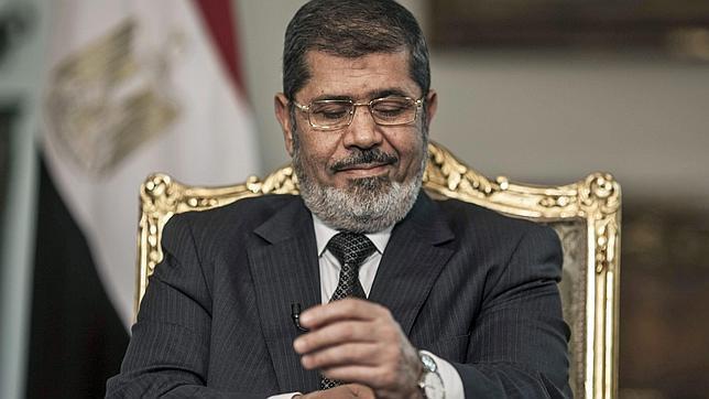 Fotografía de archivo del expresidente Mohamed Mursi