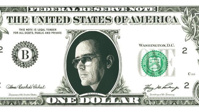 Un dólar con la cara de Risto Mejide para ayudar a los más necesitados