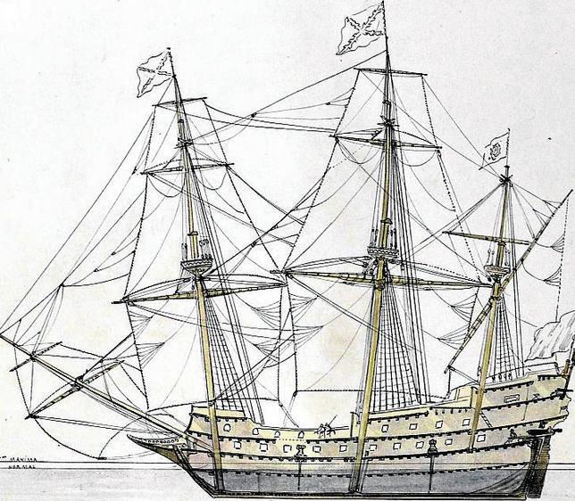 La última batalla del galeón de Ribadeo