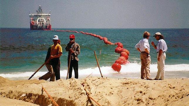 El cable submarino que conecta el mundo