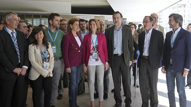 Quiroga, presidenta del PP vasco con el 72,8% de los apoyos