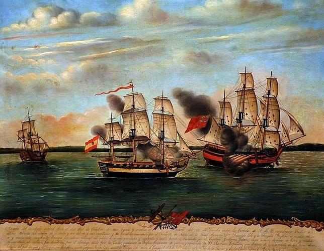 Combate hispano-británico