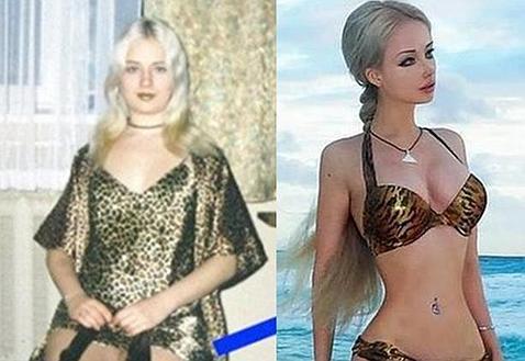 Así era la Barbie humana antes de meterse en quirófano