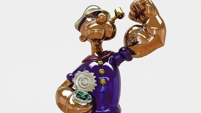 «Popeye», de Jeff Koons, no alcanzó las expectativas