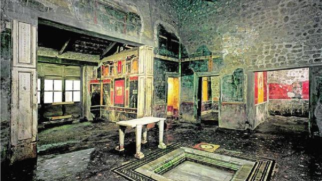 Pompeya abre tres nuevas «domus» con pinturas espectaculares