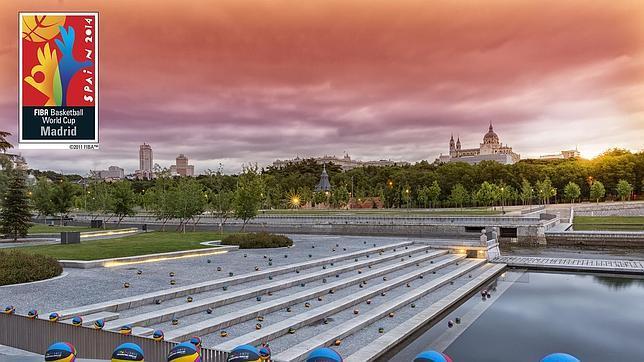Así amanece Madrid a cien días del Mundial de Baloncesto