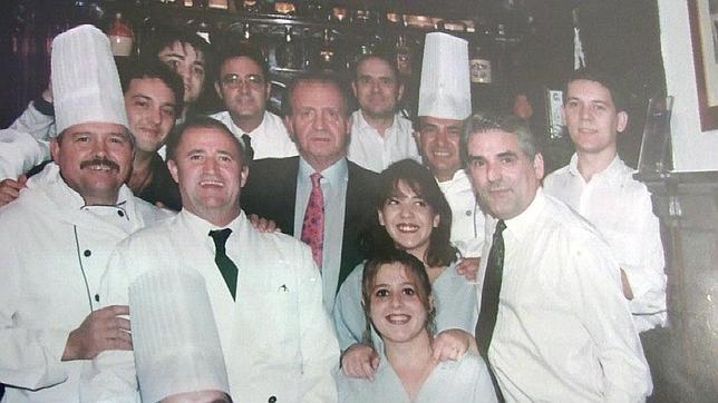 Los restaurantes favoritos de Don Juan Carlos en Madrid