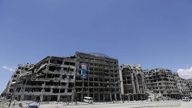 El régimen sirio lleva semanas realizando ataques químicos con cloro, según «Le Monde»