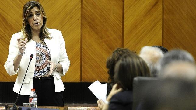 Susana Díaz avisa de que si es la líder del PSOE será también su cartel electoral