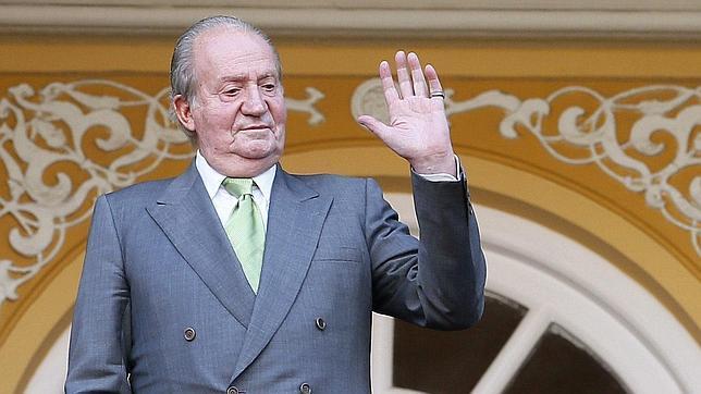 El Rey coincide con Rajoy en la Fundación Carolina por primera vez desde la abdicación