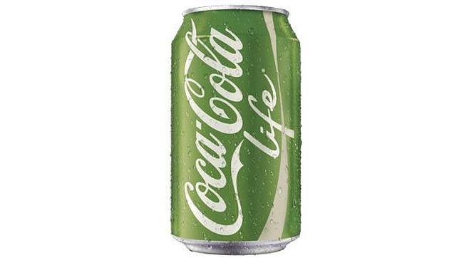 Lanzan al mercado Coca-Cola Life, con edulcorantes naturales y menos calorías