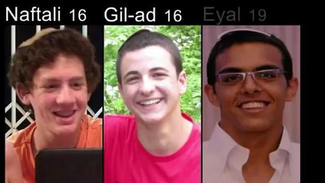Israel encuentra los cuerpos de los tres jóvenes israelíes secuestrados en Cisjordania