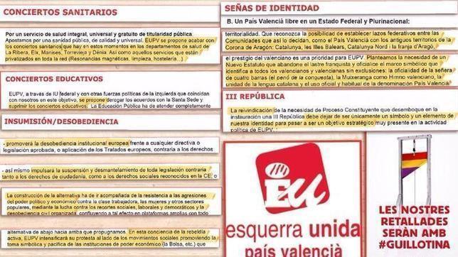 Los socios del PSOE en Valencia piden una república libre «federada con Cataluña»