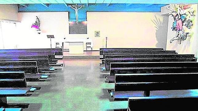 Última misa en la capilla de Geografía e Historia de la Complutense