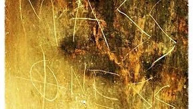 Una de las pintadas aparecidas en la sede masónica